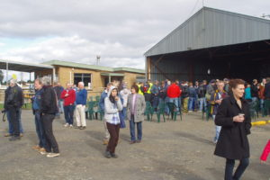 morning-tea-was-served-in-the-kyneton-aero-club-hangar
