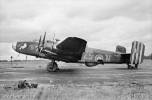 Halifax_Z5_N_462_Squadron_AWM_P01523033